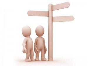 2 пути выбор