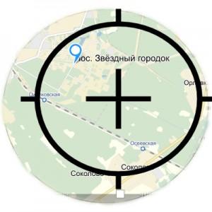 Звездный городок карта