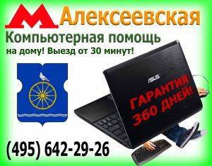 Настройка компьютера Алексеевская